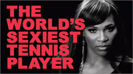 Serena Williams Top Spin 4 ad