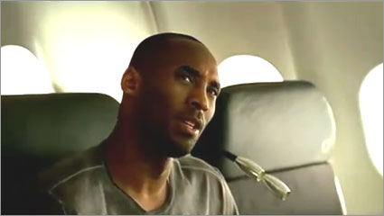 Kobe Bryant Turkish Airlines Commercial