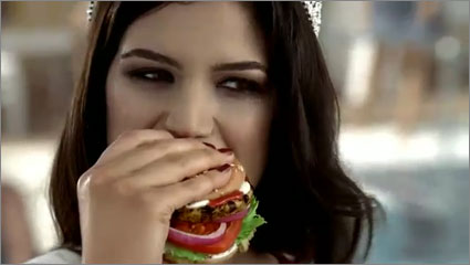 Miss Turkey Carls Jr
