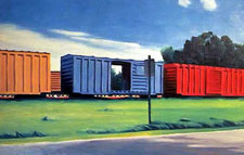 Ads On Freight Cars A Train In Vain Adweek
