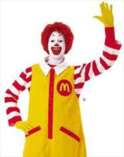So it looks like ronald mcdonald has been arrested for burglarizing a